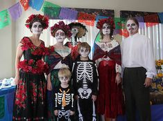 Dia de los Muertos day of the dead party