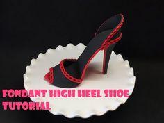 High Heel Wedge Shoe Cake - How To Make *Torta Zapato - YouTube