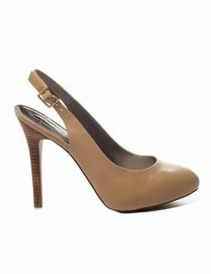 The Limited - Leather Slingback Shoes in Sand: $58.80