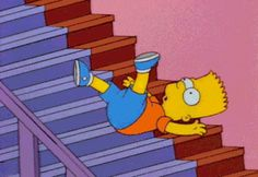 Trending GIF tv funny animation the simpsons bart simpson simpsons bart stairs Simpsons Cartoon, Cartoon Memes, Cartoon Icons, Homer Simpson, Lisa Simpson, Gif Animé, Animated Gif, Simpson Wave, Los Simsons