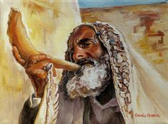 Feast of Trumpets~ Blowing the Shofar