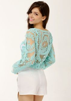Crotchet Glam Top | Clothing | ChichiMe