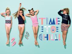 Australian children's label Cotton On KIDS will bring its latest styles when it opens its doors in Sandton City today. Clothing Photography, Children Photography, Best Kids Watches, Kids Graphics, Shooting Photo, Kids Swimwear, Trendy Kids, Kids Swimming, Kids Sports