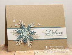 I Create: snowflake includes one silver glimmer layer