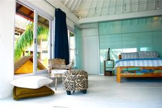 SugarShack Candidasa Bali. Great beach house in tranquil seaside, east of Bali