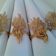 15 anos de Natasha Magalhães.  Porta guardanapos desenvolvidos artesanalmente por Rosa Sensoli Design por Jessica Melo.