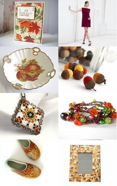 Hello Autumn by Tommye on Etsy--Pinned with TreasuryPin.com