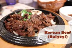 Korean Beef Bulgogi Recipe from Nourishing Traditions