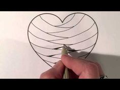 How I draw Paradox in a square - Zentangle - YouTube