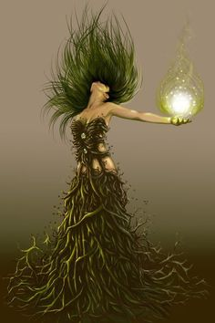 Gorgeous goddess #art #goddess #pagan #wicca