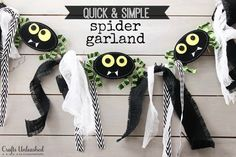 Halloween-Spider-Garland-Crafts-Unleashed