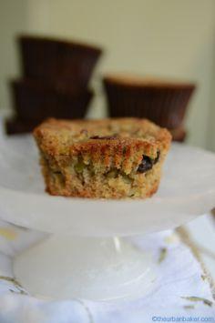Gluten Free Zucchini Chocolate Chip Walnut Muffins | @Susan Caron Salzman | www.theurbanbaker.com