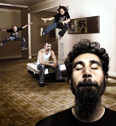 System of a Down #rockstars #music #photography