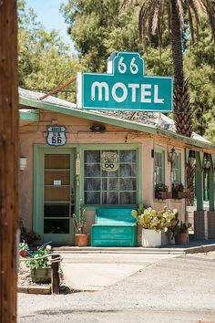 66 Motel - Needles, California ~ currently a private residence