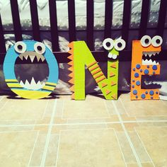ONE monster letters!