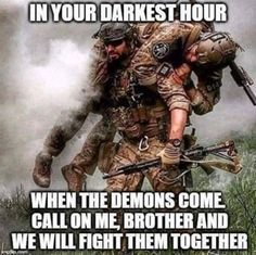 Quotes About Life :The 100 Greatest Brother Quotes And Sibling Sayings Military Quotes, Military Humor, Military Life, Military Couples, Usmc, Marines, Warrior Quotes, Warrior Spirit, Badass Quotes