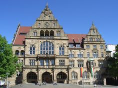 Oude Stadhuis (Old City Hall) Bielefeld (Duitsland, Germany)