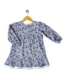 Take a look at this Rose Denim Dress - Infant, Toddler & Girls by Eternal Creation on #zulily today!