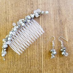 How to make bridal hair accessories- free jewelry tutorials for handmade hairband from pandahall.com