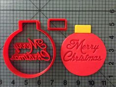 Christmas Ornament Cookie Cutter Set JBCookieCutters.com