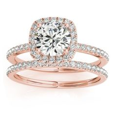 20 Rose Gold Engagement Rings That Will Leave You Speechless