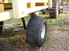 Best tips and tricks about organic gardening Garden Tool Storage, Garden Tools, Lawn Tractor Trailer, Tractor Accessories, Garden Cart, Utility Trailer, Homemade Tools, Lawn Care, Homesteading