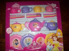 Disney Princess Dinnerware Dish Tea Set 26 Pieces (styles and colors may vary) -- Read more  at the image link.