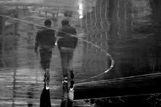 Walking in the Rain © Wilson Sze Shing Au