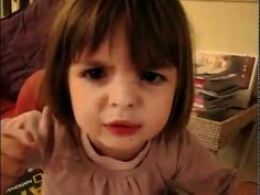 """This little French girl is SOO cute. She has the craziest imagination. You'll scratch your head and go """"Wha?"""""""
