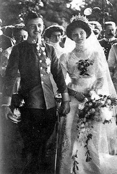 Matrimonio tra Zita di Borbone-Parma e Carlo d'Austria-Este, gli ultimi imperatori dell'Impero Austro Ungarico