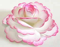 Blossom punch paper flower video -- so pretty! Might try for wedding shower centerpieces this summer.