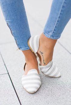 Stitch Fix shoes - striped espadrilles. 2017 summer and spring fashion #sponsored #stitchfix
