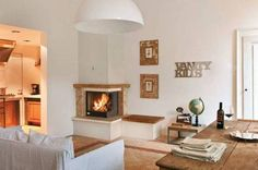 Image result for mid century electric fireplace