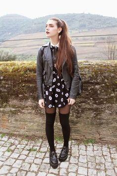Fashion, grunge outfits и grunge fashion. Estilo Indie, Estilo Preppy, Estilo Grunge, Indie Fashion, Grunge Fashion, Look Fashion, Skirt Fashion, Winter Fashion, Fashion Outfits