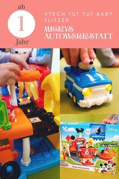 Kinder lieben es: #VTech Mickys Autowerkstatt - #Lernspielzeug für Kleinkinder ab #1 Jahr Nerf, Toys, Automobile Repair Shop, Meaningful Gifts, Filling Station, Gifts For Children, Activity Toys, Clearance Toys, Gaming
