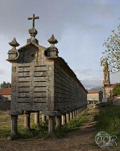 Horreo Carnota, Galicia