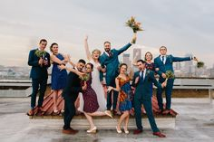 A bright and bold wedding filled with proudly South African touches like proteas, African print fabrics, strelizias, and the Joburg skyline! South African Weddings, Beautiful