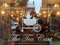 Tucked away in the charming downtown area of Berryville, the Tea Cart is located at 16 W. Main Street.