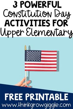 Upper elementary teachers, are you looking for engaging Social Studies Notebook, Social Studies Classroom, Teaching Social Studies, Classroom Constitution, Constitution Day, Government Lessons, Teaching Government, History Education, Teaching History