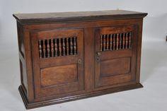 18th century Oak Welsh Hanging Food Cupboard