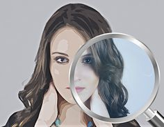 """Check out new work on my @Behance portfolio: """"The magnifier glass will show you the truth"""" http://be.net/gallery/49260421/The-magnifier-glass-will-show-you-the-truth"""
