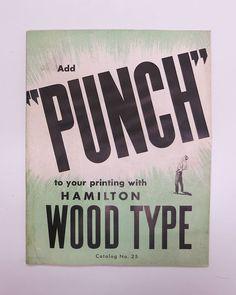 Wood Type Specimen Catalog