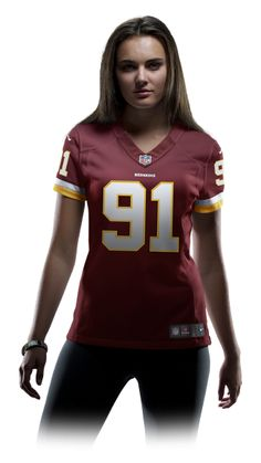 NFL Washington Redskins (Ryan Kerrigan) Women's Football Home Limited Jersey