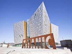 Explore nine impressive galleries full of immersive and engaging exhibitions that tell the dramatic story of the great ship at Titanic, Belfast. Belfast, The Places Youll Go, Places To Visit, Ireland Travel, Days Out, Titanic, Great Britain, Skyscraper, To Go