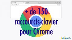 + de 150 raccourcis-clavier Google Chrome (surfez comme un pro !) #nouveaute #new #marketing #seo #referencement #ecommerce #commerce #web #social #media