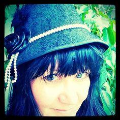 #omakuvia #selfportraitsz #1920sstyle #flappergirlish #vintage #hat  #hattu