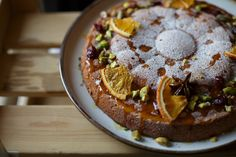 Clara_Blog_edge50photo-62 Recipe Journal, Food Journal, Orange And Almond Cake, Dairy Free, Gluten Free, Almond Cakes, Diy Cake, My Recipes, Cake Decorating