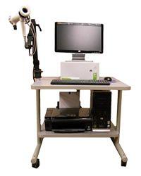Cosmed Quark PFT on SMI cart Drafting Desk, Office Desk, Cart, Furniture, Home Decor, Covered Wagon, Desk Office, Decoration Home, Desk