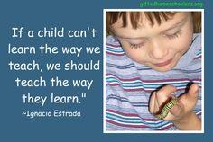 Teach them the way they learn