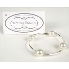 Pearl Blessing Bracelet - Two Friends